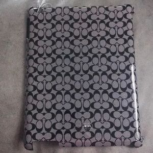 NWOT Coach IPad Case